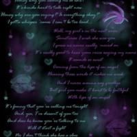 Girly Notes w/ Lips, Stars & Hearts