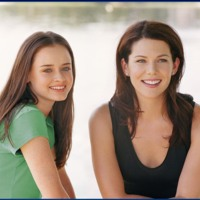 Gilmore Girls Rory & Lorelai