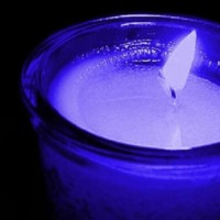Blue Candle Flame