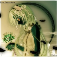 Inverted Green Anime Girl