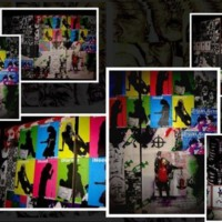 Colorful Silhouettes Wall Art
