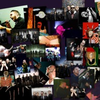 Blue October Collage