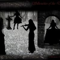 Silhouttes in Graveyard