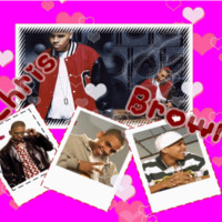 Chris Brown & Pink Hearts