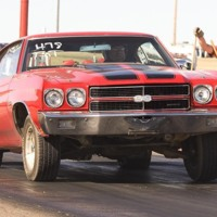 Red & Black 1970 Chevelle SS 454
