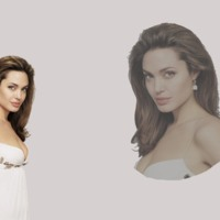 Angelina Jolie in White