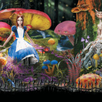 Spooky Alice in Wonderland