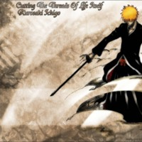 Kurosaki Ichigo Cutting the Threads of Life Itself
