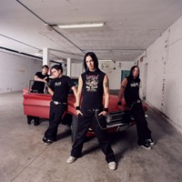 Bullet for My Valentine w/ Red Car