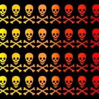 Yellow to Red Skullz