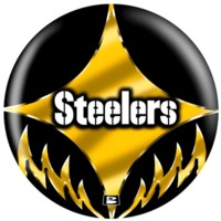 Steelers Logo in Gold & Black