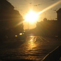 Sunrise Over Street