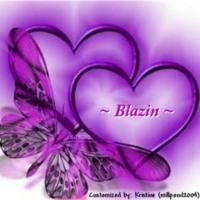 Purple Hearts & Butterflies