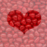 Red Hots Valentine's Heart