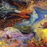 Dream Fairy w/ Birds & Butterflies