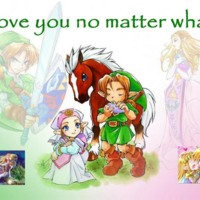 Link and Zelda-I Love You No Matter What