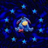 Eeyore & Blue Stars