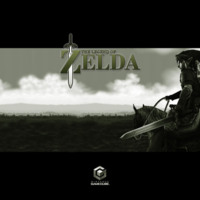 The Legend of Zelda in Black & White