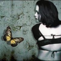 Sad Girl & Butterfly