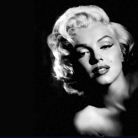 Marilyn Monroe in Black & White