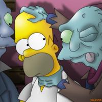 Homer & the Zombies II