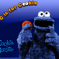 Cooky Monster C is for Cookie