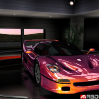 Purple Race Car