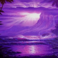 Purple Mystical World