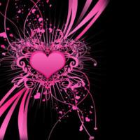 Pink Heart Design