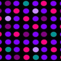 Purple, Pink & Teal Dots