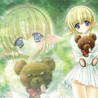 Anime Girl & Bear