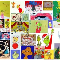 How the Grinch Stole Christmas Collage