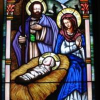 Mary Joseph & Jesus