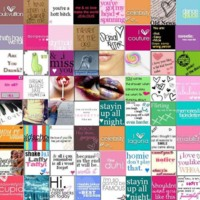 Girly Love Tiles
