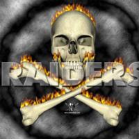 Raiders Skull in Flames