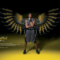 Kobe Bryant w/ Shoe Wings