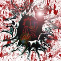 Hatchetman Blood Splat