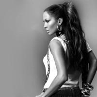 Jennifer Lopez in Black & White