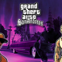 Grand Theft Auto San Andreas Purple
