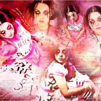 Amy Lee Pink Collage