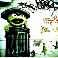 Oscar the Grouch Graffiti