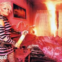 Pink Burning Bedroom