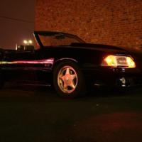 Black 5.0 Mustang
