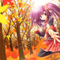 Autumn Anime Girl