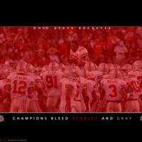 Ohio State Buckeyes Champions Bleed Scarlet & Gray