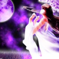 Praying Purple Night