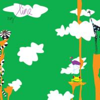 Snakes & Frogs Sky Cartoon