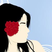 Topical Flower Girl