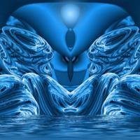 Blue Light Waves