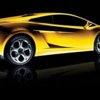 Yellow Lamborghini Galardo